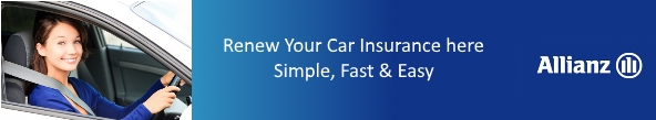 allianz important contact number renew car insurance